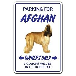 Afghan Hound Sign