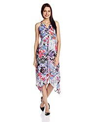 Rain and Rainbow Women's Empire Dress (50001-SS/64-01_Blue_X-Large)