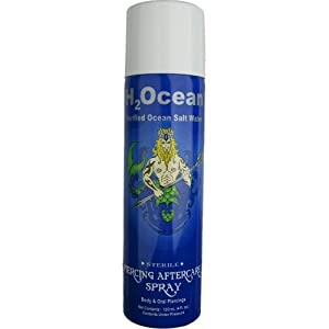 H2ocean-Piercing Aftercare Spray (4oz)