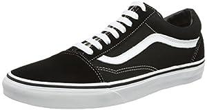 Vans OLD SKOOL VD3H Unisex-Erwachsene Sneakers, schwarz/weiß, EU 39 (US 7)