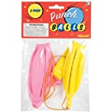 2 Pack of Classic Punch Ball Balloons (Colors May Vary)