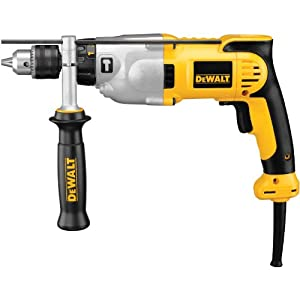 DEWALT DWD520K 1/2-Inch VSR Pistol Grip Hammerdrill Kit from DEWALT
