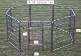 BestPet Hammertone Finish 40&#8243; Heavy Duty Pet Playpen Dog Exercise Pen Cat Fence S