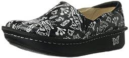 Alegria Women\'s Debra Professional Slip Resistant Work Shoe,Chef Black,34 BR/4-4.5 M US