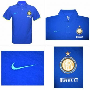Inter Milan Crest Polo Shirt by Nike
