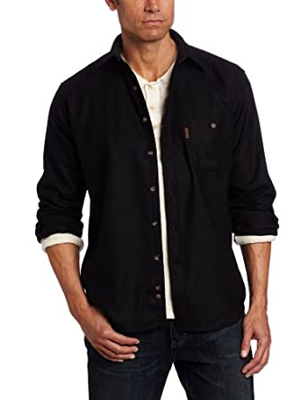 Pendleton Men's Trail Shirt, Black, Small