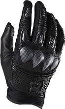Fox 2014 Bomber S Full Finger MTB amp BMX Cycling Gloves - 01095 Black - XXL