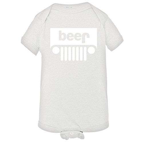 Baby Beer Jeep Infant Body Suit Onsie