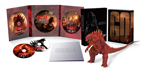 ��Amazon.co.jp�����GODZILLA ������[2014] �������̸�������5����S.H.MonsterArts GODZILLA[2014] Poster Image Ver.Ʊ��(��������֥å��դ�) [Blu-ray]