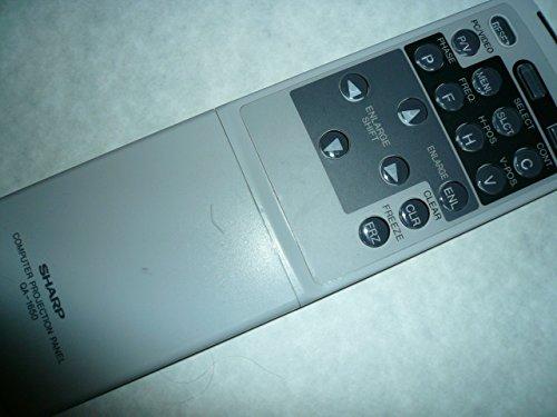 Sharp Qa-1650 Computer Projection Lcd Remote Control