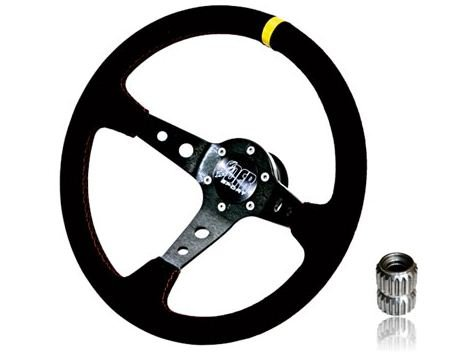 Dragonfire Racing Can Am Commander, John Deere Gator, Kawasaki Teryx, Polaris RZR/Ranger/Ranger XP and Yamaha Rhino Quick Release Steering Wheel Kit. DFRQRSTEERING