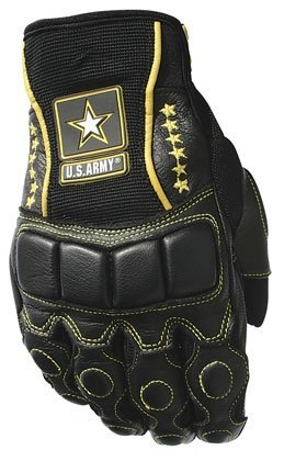 Power Trip Mens U.S. Army Tactical Motorcycle Gloves Black Large L