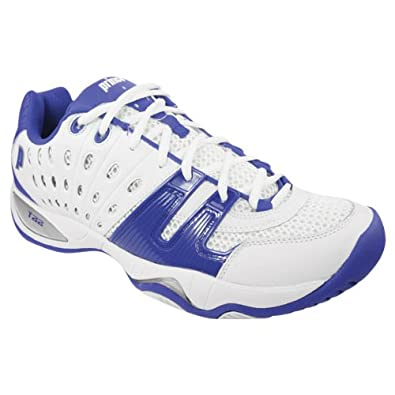 Prince T22 Men's Tennis Shoe White/Royal (8)