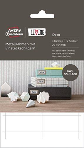 avery-zweckform-62021-living-metallrahmen-mit-einsteckschildern-4-rahmen-12-schilder-27-x-54-mm-silb