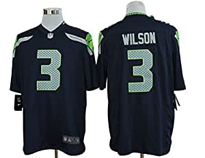 Wilson #3 Seattle Seahawks home jersey. Stitched Letters & Numbers.Size 40 (Medium)