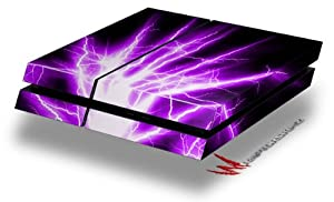 Lightning Purple - Decal Style Skin fits original PS4 Gaming Console