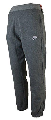 nike-herren-hosen-mens-fleece-jog-pants-slim-fit-tracksuit-bottoms-joggers-fleece-pant-navy-grey-siz