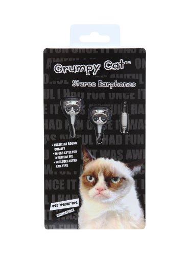 Grumpy Cat Earbuds