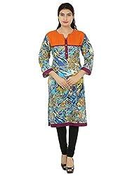 Adhaans Multicolor Casual Printed Women's Kurti
