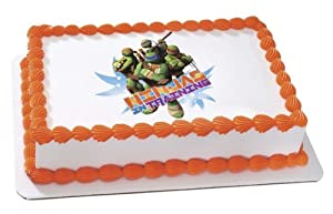 Teenage Mutant Ninja Turtles Edible Cake Topper Decoration