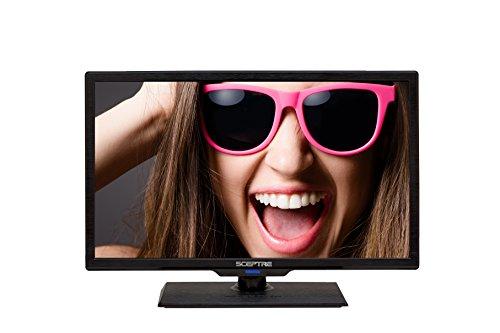 "Sceptre E195BV-SMQR 19"" LED HDTV (Piano Black)"