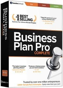 BUSINESS PLAN PRO COMPLETE (SOFTWARE - PRODUCTIVITY)