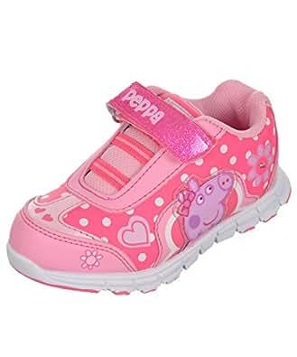 Amazon.com: Peppa Pig Light Up Sneaker Toddler Girls Shoe: Shoes