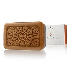 Thymes Lotus Santal Bar Soap Natural Body Hand