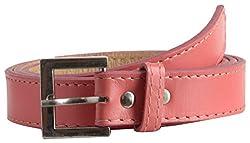 Garvan Women's Pink Casual Leather Belt (LBW 13-Pink)