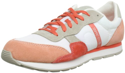 ESPRIT Kivu Lace Up Low Top Women Red Rot (peach red 622) Size: 4 (37 EU)