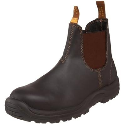Blundstone Men's 172 Steel-Toed Boot,Stout Brown,6 M AU/7 M US