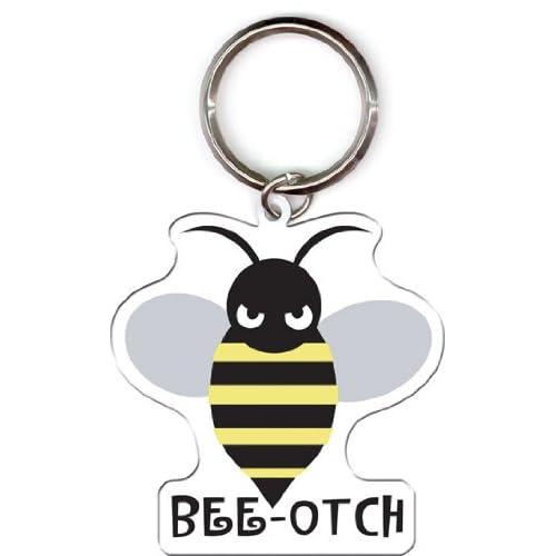 Evilkid   Original Bee otch High Quality Metal Nøglering Keychain   2