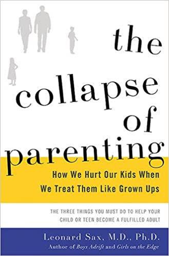 Sax — The Collapse of Parenting