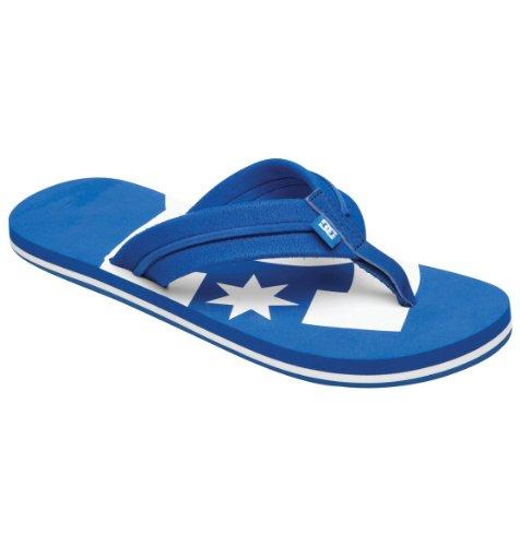 DC Men's Central Flip Flops - Royal