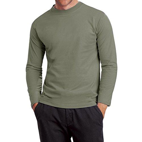 hanes-heavy-t-mens-algodon-manga-larga-t-shirt-verde-caqui-small