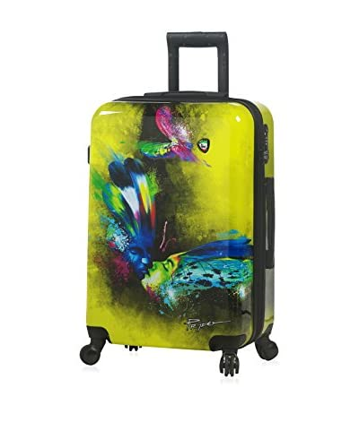 Mia Toro Prado-Butterfly Kiss Hardside Spinner Luggage