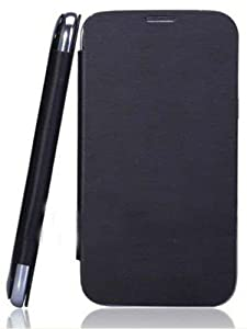 IWAY KARBONN Titanium S1 Flip cover (Black) available at Amazon for Rs.204