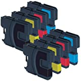 Brother DCP 195C - 8 Item Multipack Compatible Printer Ink Cartridges