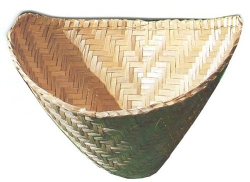 2 Thai Lao Sticky Rice Steamer Baskets Bamboo Kitchen Cookware Tool (Streamer Cooker compare prices)