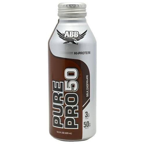 Pure Pro 50 - Ready to Drink Super-High Protein Shake Milk Chocolate 12 bottles (14.5oz)