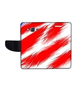 KolorEdge Printed Flip Cover For Samsung Galaxy J7 Multicolor - (1479-55KeMLogo11813SamJ7)