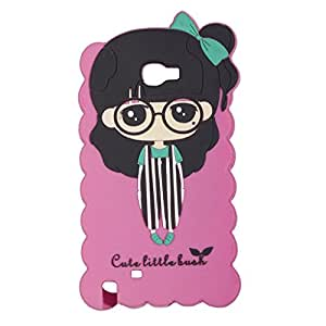 Cute Little Bush Soft Silicone back Case Cover For SAMSUNG GALAXY NOTE 2 N7100