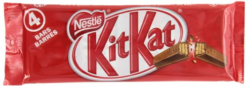 Kit Kat Milk Chocolate 4 Finger, 4 x 45gm, Multipack