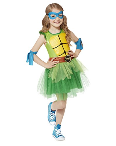 [Spirit Halloween Kids' TMNT Tutu Costume - Teenage Mutant Ninja Turtles] (Tutu Halloween Costumes For Teenage Girls)