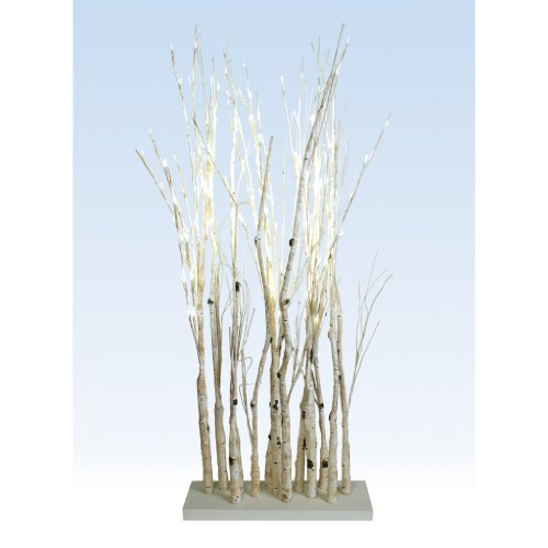 Melrose 50881 - 50881 Wh Electric Birch Branches