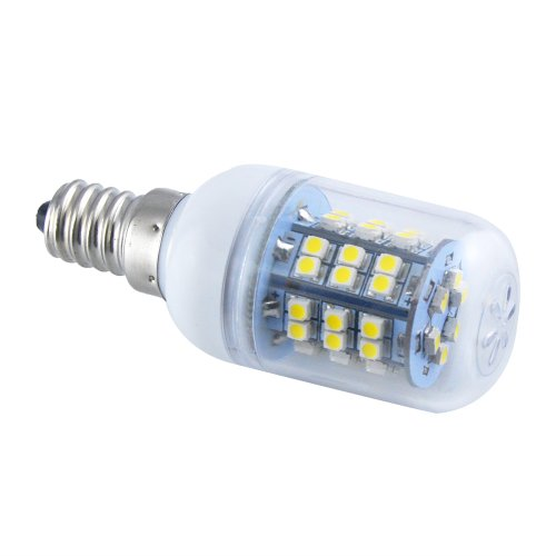 Thg Energy Saving E14 48 Smd 3528 Led 280Lm Warm White Corn Light Lamp Bulb 3000-3500K Equivalent Halogen 40W With Transparent Cover