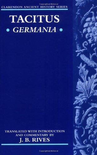 Germania (Clarendon Ancient History Series)