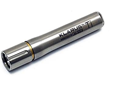 Klarus MiX6 Ti Titanium Key Chain Light- 85 Lumens, Uses 1 x AAA Battery, Silver KLARUS-MIX6-TI from Klarus