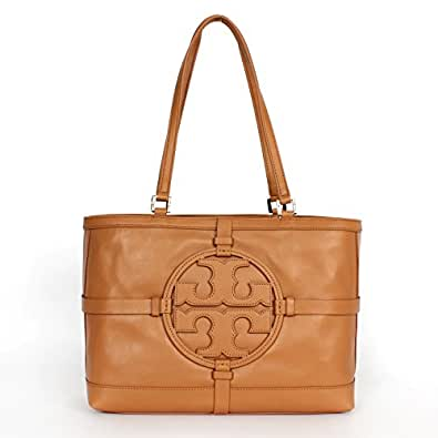Tory burch holly e w leather tote vintage vachetta for Tory burch jewelry amazon