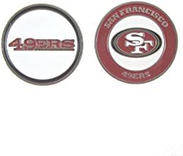 San Francisco 49ers Double Sided Golf Ball Marker